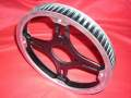 (Z 440 Twin LTD, Z 440 Twin) Riemenscheibe Hinterrad 21053-1009 SPROCKET REAR HUB 65 T 21053-1006/42041-5003